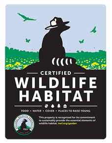 National Wildlife Federation Certified Wildlife Habitat at Lotus Ranch